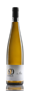 Bouteille de vin d|'Alsace : blanc