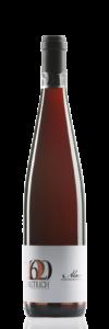 Bouteille de vin d|'Alsace : rouge